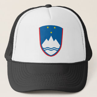 Coat_of_arms_of_Slovenia Truckerkappe
