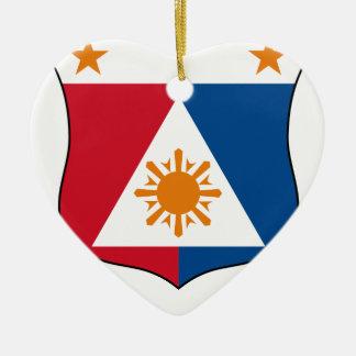 Coat_of_arms_of_the_Philippines_ (1941-1943) Keramik Ornament