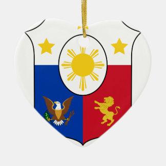 Coat_of_arms_of_the_Philippines Keramik Ornament