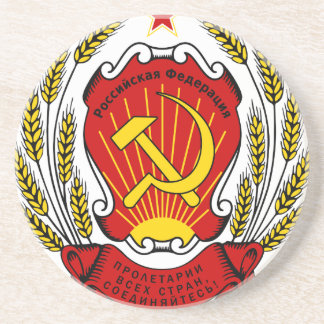 Coat_of_arms_of_the_Russian_Federation_ Getränkeuntersetzer
