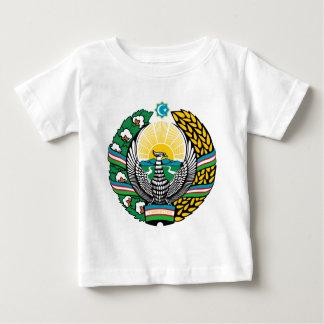 Coat_of_arms_of_Uzbekistan_cyrillic Baby T-shirt