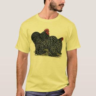 Cochin sprenkelte Huhn-Paare T-Shirt