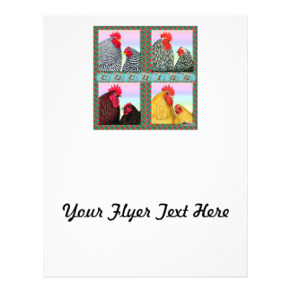 Cochins vier Farben Flyer