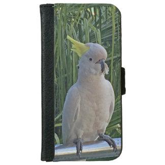 Cockatoo iPhone 6/6s Geldbeutel Hülle