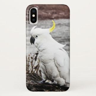 Cockatoo Schwefel-Mit Haube iPhone X Hülle