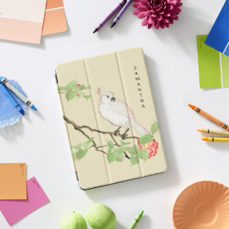 """Cockatoo-Vintage japanische Kamelie 10,5"""" iPad Pro iPad Pro Cover"""
