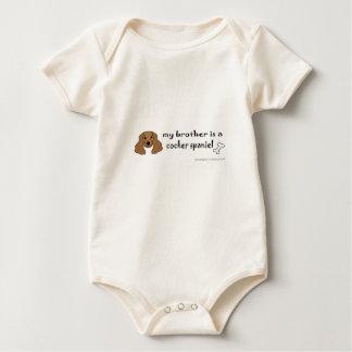 cocker spaniel baby strampler