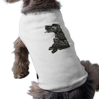 Cocker spaniel-Haustier-Strickjacke Shirt