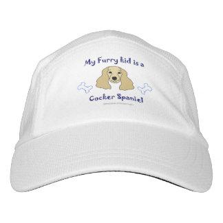 cocker spaniel headsweats kappe