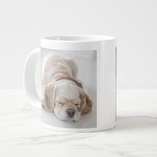 Cocker spaniel-Hundeschlafen Jumbo-Tasse