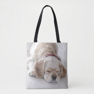 Cocker spaniel-Hundeschlafen Tasche