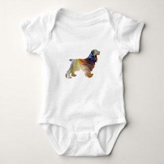 Cocker spaniel-Kunst Baby Strampler