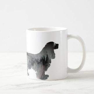 Cocker spaniel-Kunst Kaffeetasse