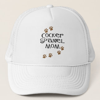 Cocker spaniel-Mamma für Hundemammen Truckerkappe
