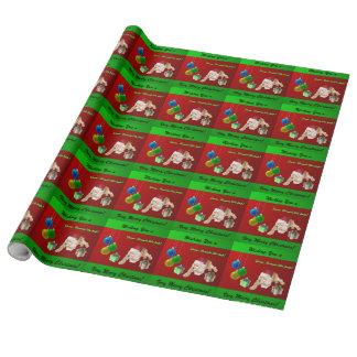 Cocker spaniel-Weihnachten Geschenkpapier