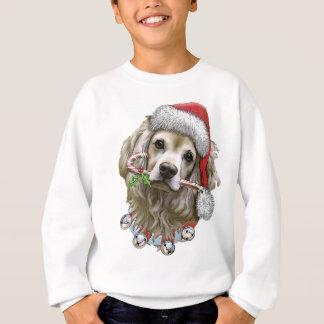 Cocker spaniel-Weihnachten Sweatshirt