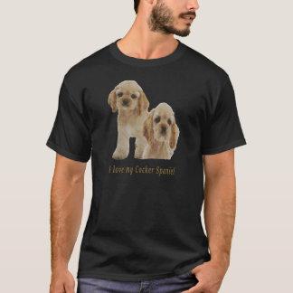 Cocker spaniel-Welpen T-Shirt