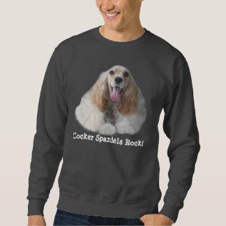 Cocker spaniellächelndes UnisexSweatshirt Sweatshirt