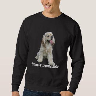 Cocker spanielunwiderstehliches UnisexSweatshirt Sweatshirt