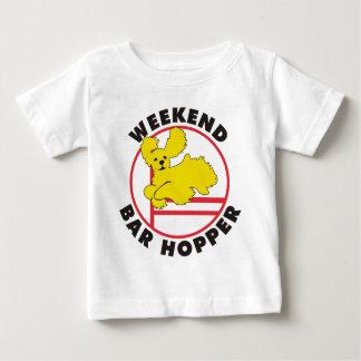 Cockerspaniel-Agility-Wochenenden-Bar-Trichter Baby T-shirt