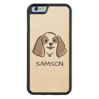 Cockerspaniel-Cartoon-Hund - kundenspezifischer Bumper iPhone 6 Hülle Ahorn
