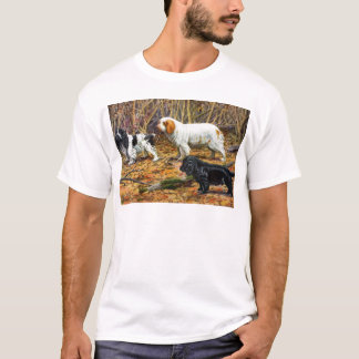 Cockerspaniel, Clumber und Feld-Spaniels T-Shirt