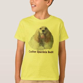 Cockerspaniel-lächelnder KinderunisexT - Shirt