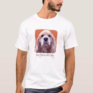 Cockerspaniel mit Haltung T-Shirt