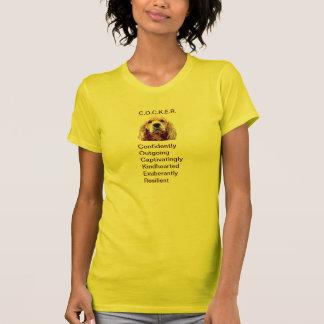 Cockerspaniel-Persönlichkeits-T - Shirt