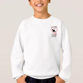 Cockerspaniel-Spaniels müssen geliebt werden Sweatshirt