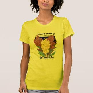 Cocksscomb hohes mit Federn versehen F Lagomarsi Tshirts