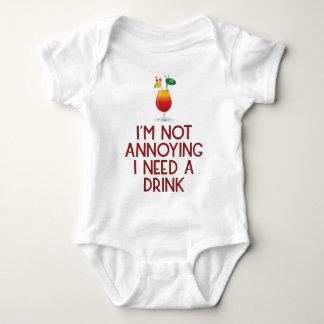 Cocktail Alkohol Party Barkeeper Bar Festival Baby Strampler