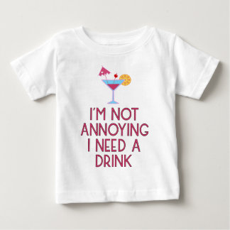 Cocktail Alkohol Party Barkeeper Bar Festival Baby T-shirt