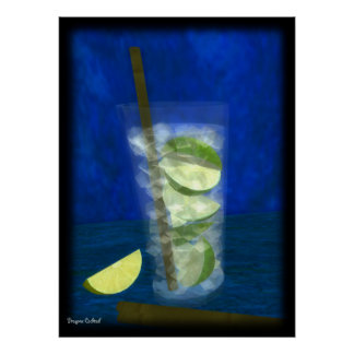 Cocktail: Caipirinha Poster