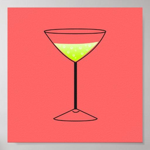 Cocktail durch SRF Plakate