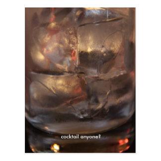 Cocktail jedermann? postkarte