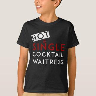 Cocktail-Kellnerin T-Shirt