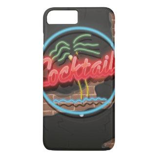 Cocktail-Nachtklub-Neon iPhone 8 Plus/7 Plus Hülle