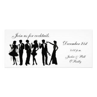 Cocktail-Party-Leute Individuelle Einladungskarte