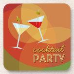 Cocktail-Party-Untersetzer