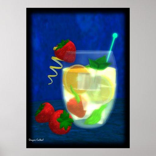 Cocktail: Pimms No.1 Plakat