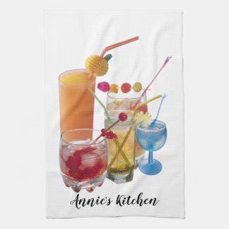 Cocktail-Sammlung Küchentuch