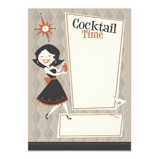 Cocktail-Zeit Ankündigungen
