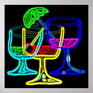 Cocktail-Zeit! Poster