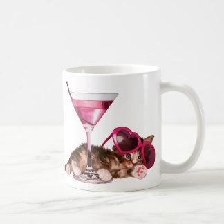 Cocktailmaine-Waschbär Tasse