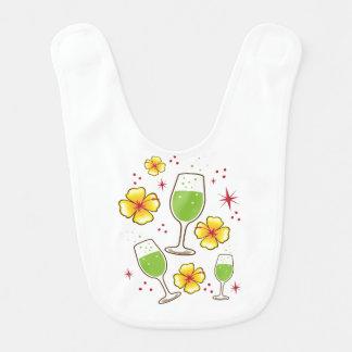 Cocktails Babylätzchen