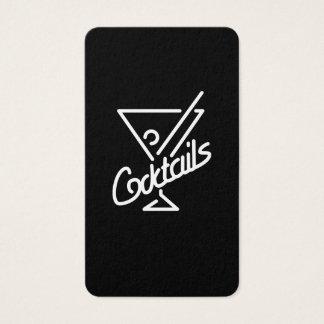 Cocktails/Barkeeper Visitenkarte