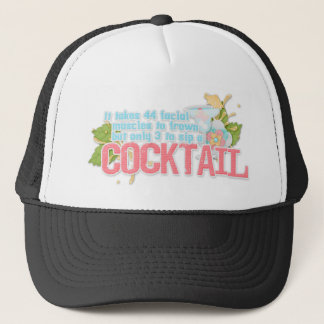 Cocktailzitat Truckerkappe
