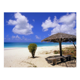 Coco-Punkt-Strand, Barbuda, Antigua Postkarte
