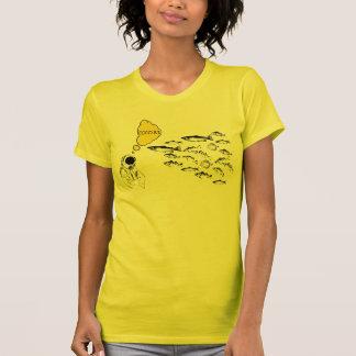 CocoBs Team-Unterwasseratemgerät-Damen-T - Shirt